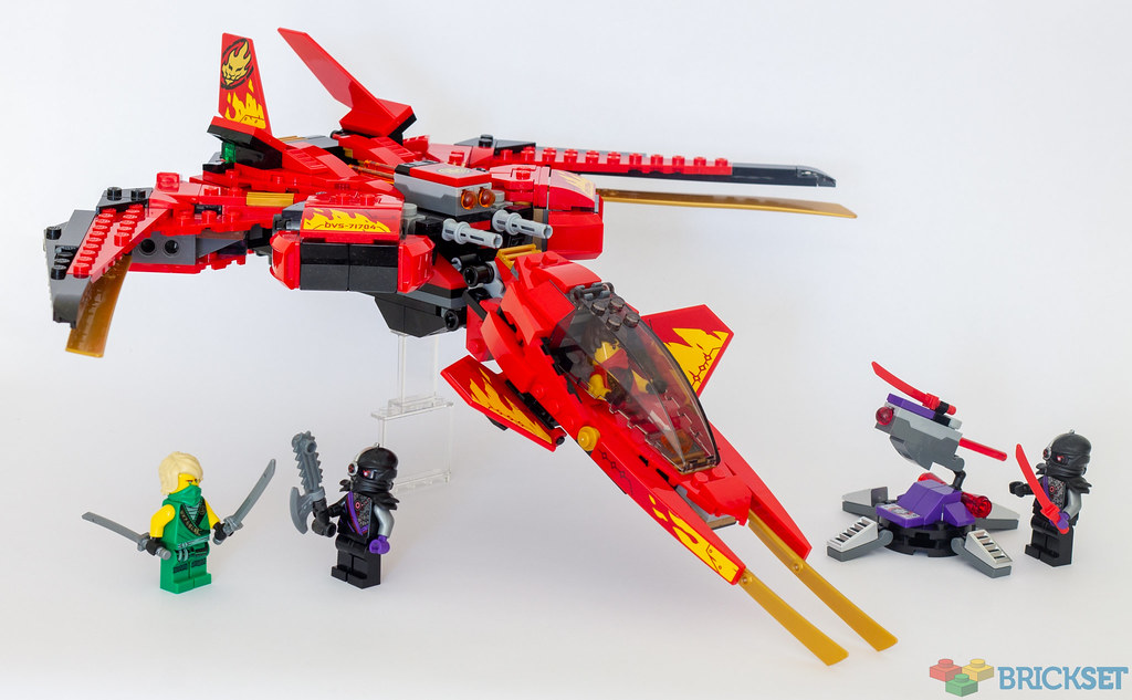 Review 71704 Kai Fighter Brickset Lego Set Guide And Database
