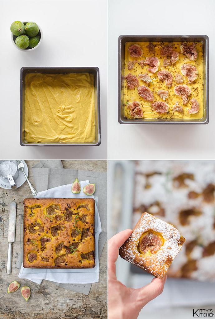 Torta mascarpone, fichi e santoreggia