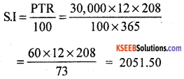 KSEEB Solutions for Class 8 Maths Chapter 9 Commercial Arithmetic Additional Questions 6