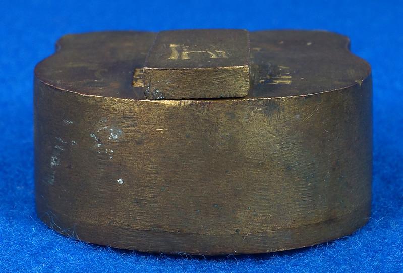 RD30529 Antique Brass Padlock Jewel Lock 1945 GT10Y.S  R Logo DSC08893