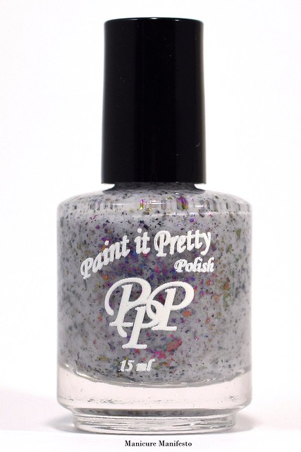 Paint It Pretty Polish Rainbow Clouds
