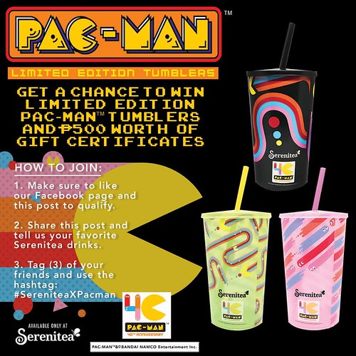 Serenitea x Pac-Man