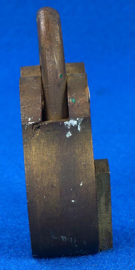 RD30529 Antique Brass Padlock Jewel Lock 1945 GT10Y.S  R Logo DSC08888