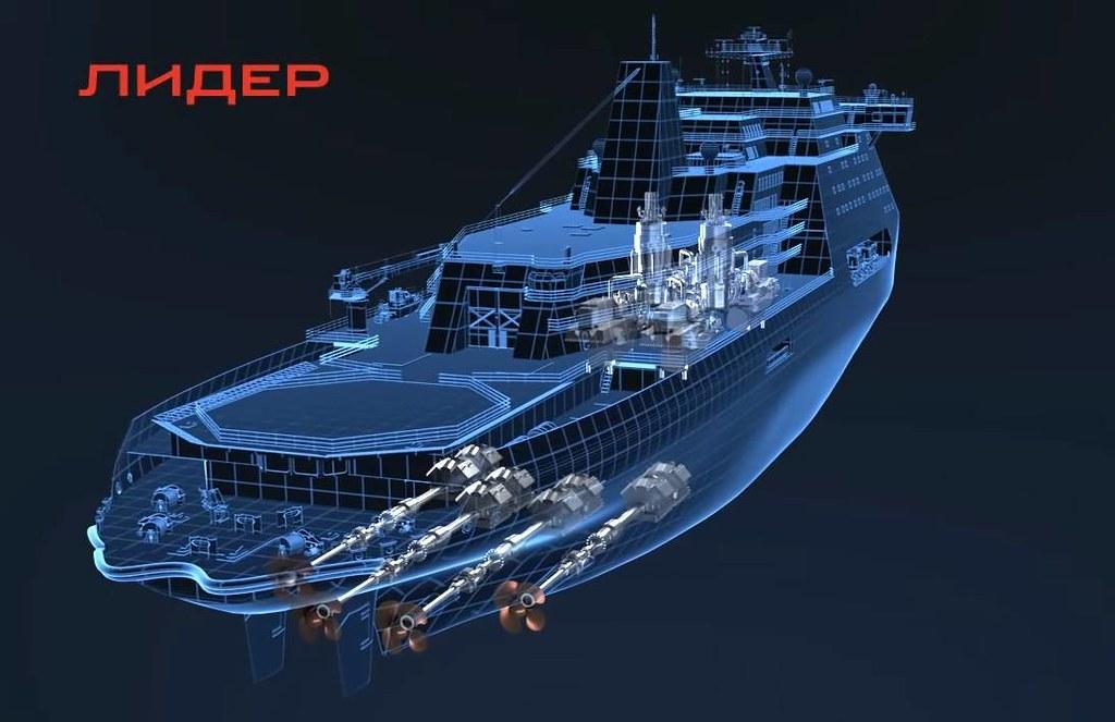 Началось строительство самого мощного в мире атомного ледокола «Россия» 2