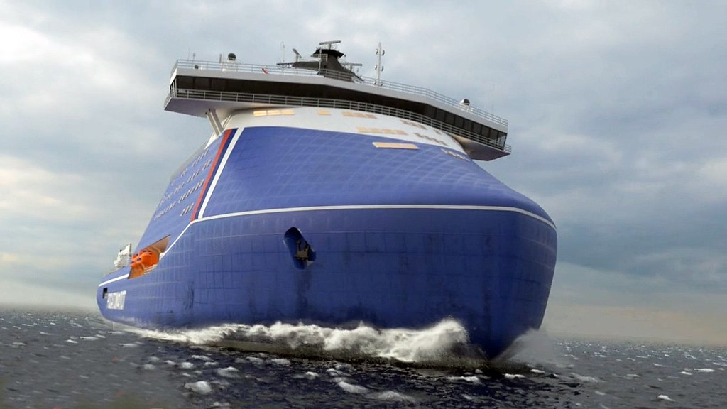 Началось строительство самого мощного в мире атомного ледокола «Россия» 1