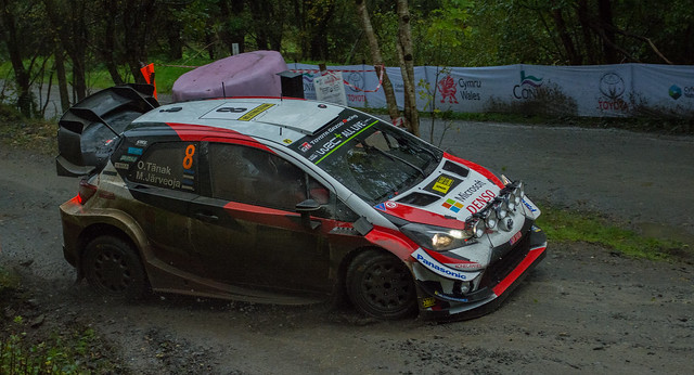 Toyota Yaris WRC- Tanak