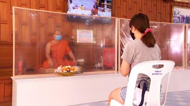 Buddhis Thailand Rayakan Asalha dengan New Normal