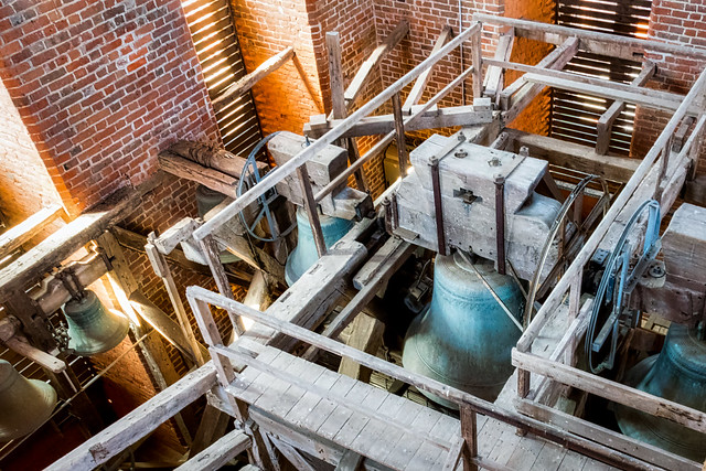 Up in the church tower - Explore!