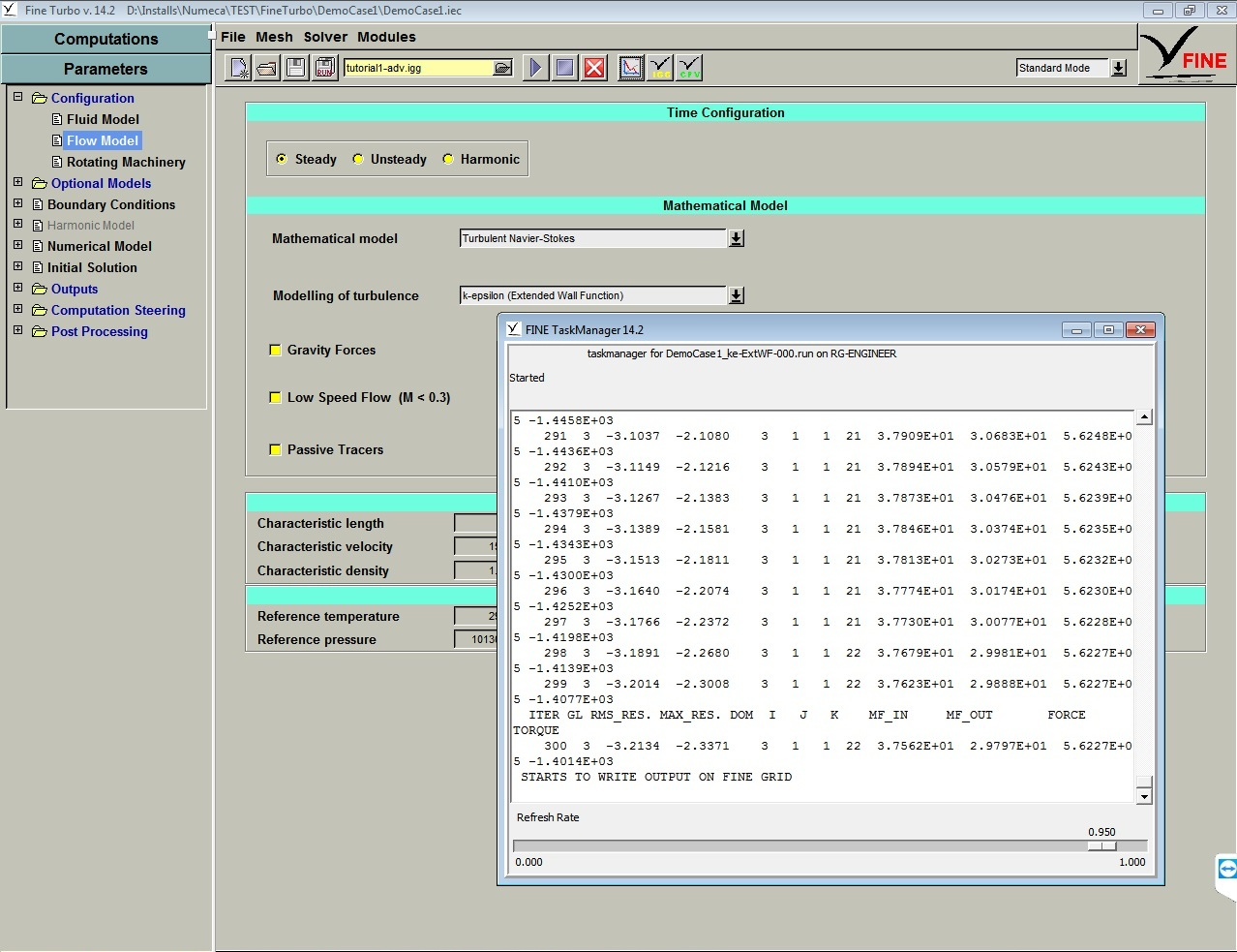 Working with NUMECA FINE-Turbo 14.2 full license