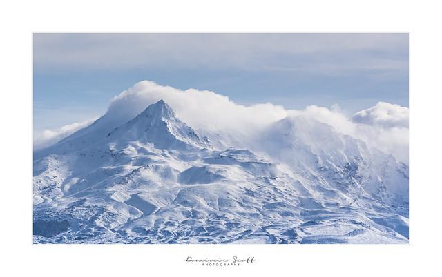 Girdlestone Peak Mount Ruapehu - New Zealand