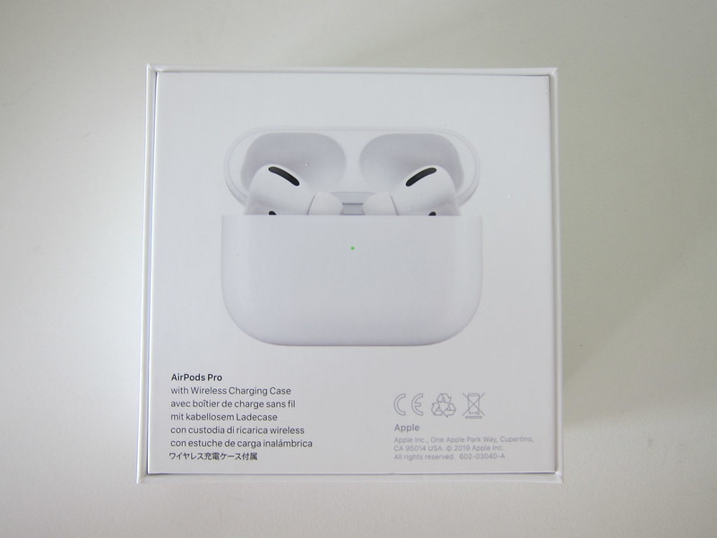 Apple AirPods Pro - Box Back
