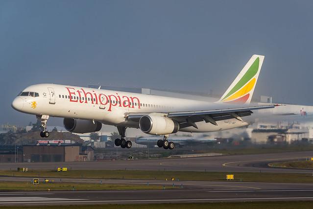 Ethiopian Airlines Boeing 757-23N ET-AMT ESSA