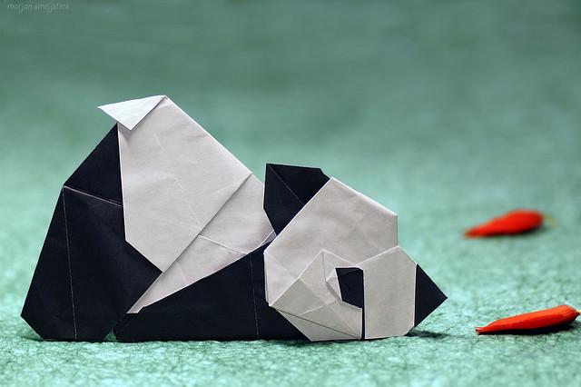 Origami Lazy Panda (Chen Xiao)