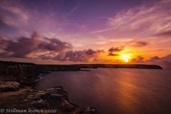 Sunset sur la Pointe de la Vigie