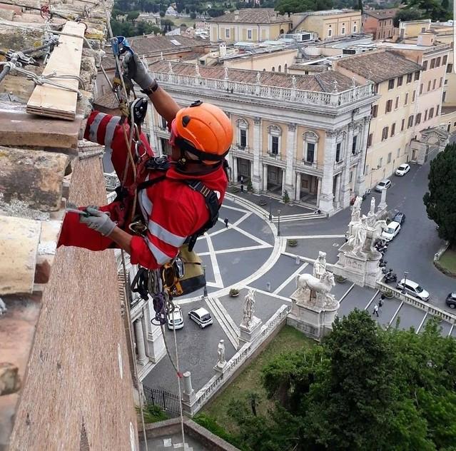 ROMA ARCHEOLOGICA & RESTAURO ARCHITETTURA 2020. L'emergenza Coronavirus,  dal Borromini al Bernini, ripartono i restauri alle opere d'arte di Roma. IL MESSAGGERO & Soprintendenza Speciale di Roma (07/05/2020).