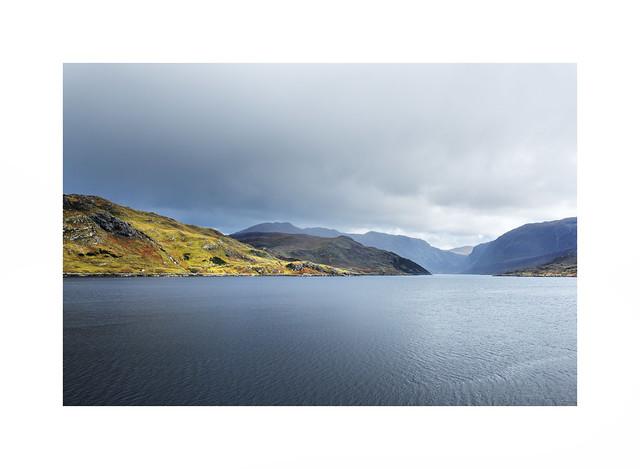 Scotland..sometimes wild and sometimes calm - a little bit like me lol