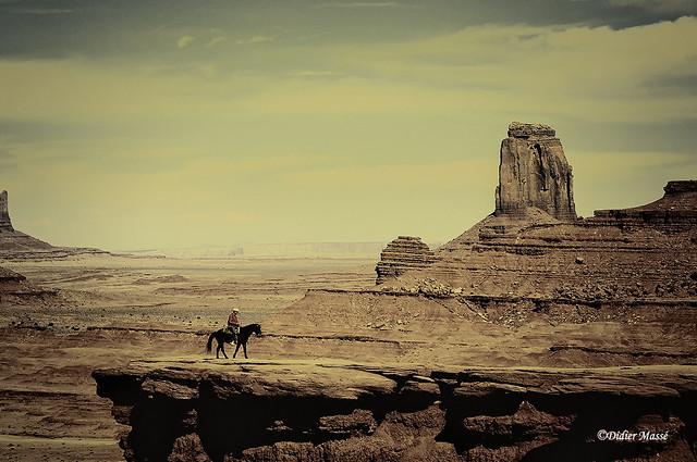 Le cow-boy de Monument Valley (hommage à Ennio Morricone)