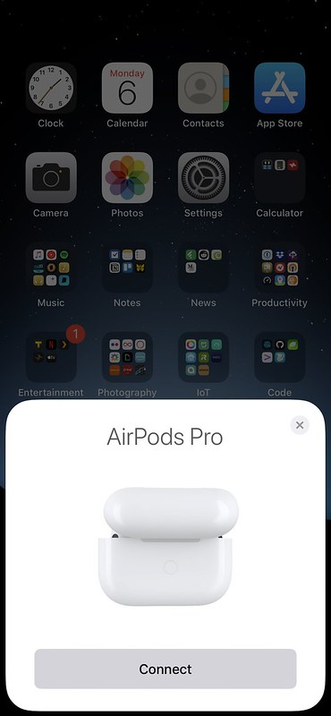 Apple AirPods Pro - iOS - Connect