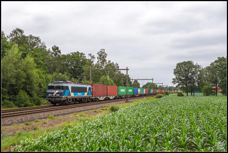 04-07-20 Train Charter Services 101001 + Coevorden-Shuttle, Notter