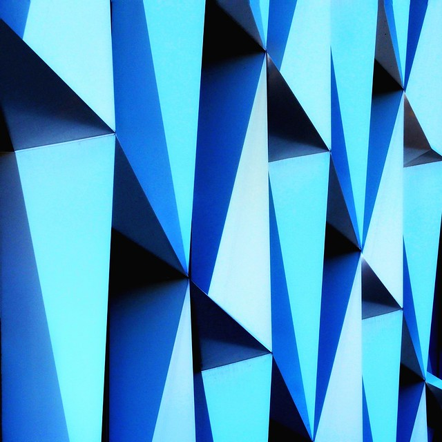 Monday Blue Abstract