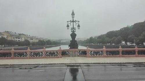 Lluvia en Donostia