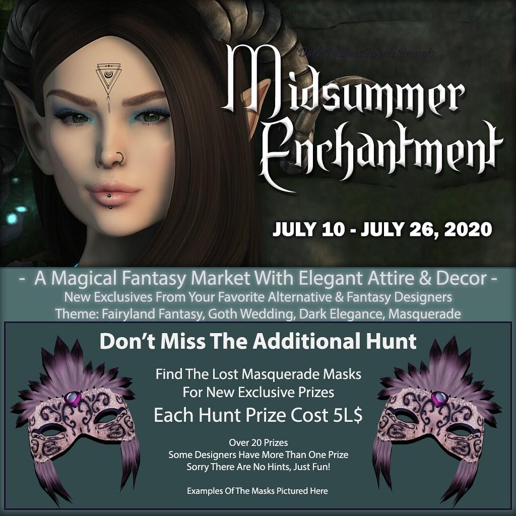 Midsummer Enchantment 2020 – Hunt Information