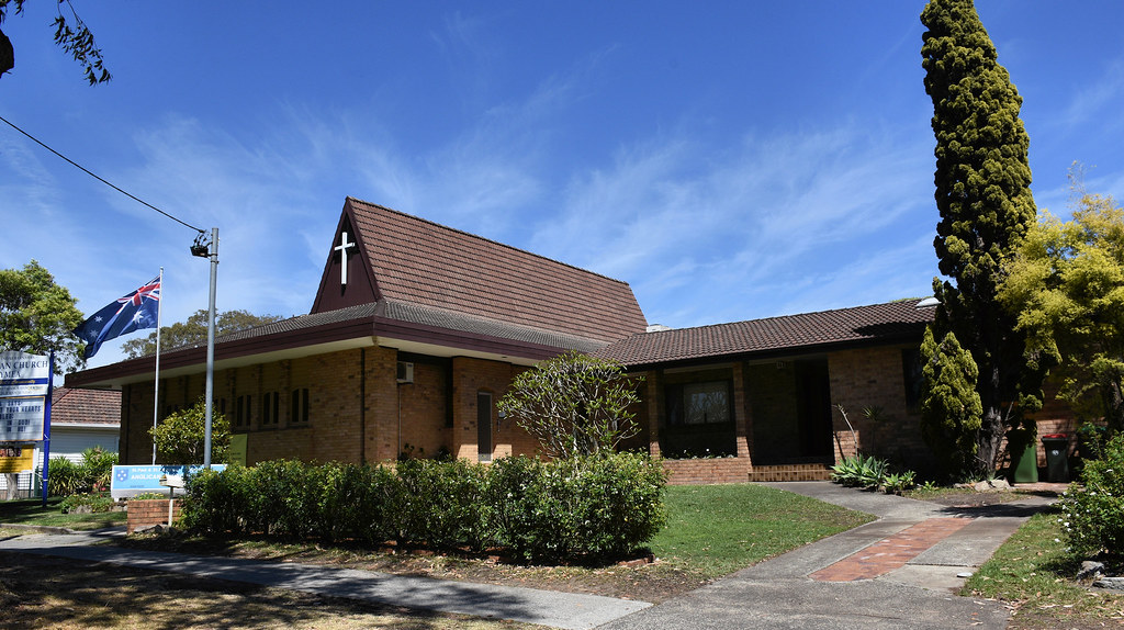 St Paul's Anglican Church, Gymea, Sydney, NSW.