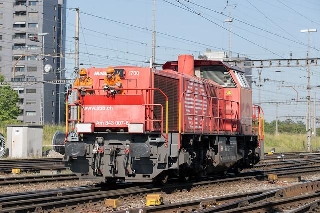 SBB Am 843 007 Basel Rbf