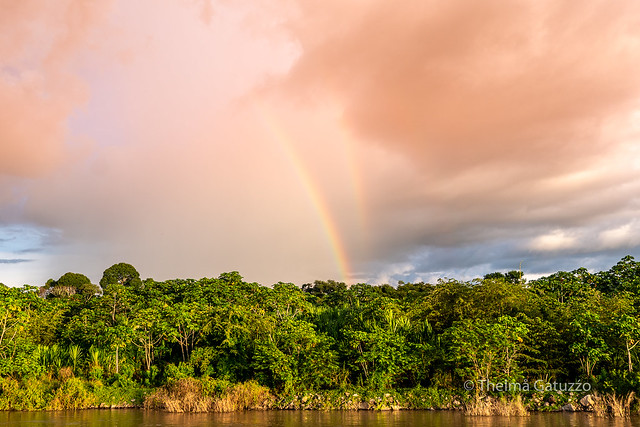 Rainbows in the sky