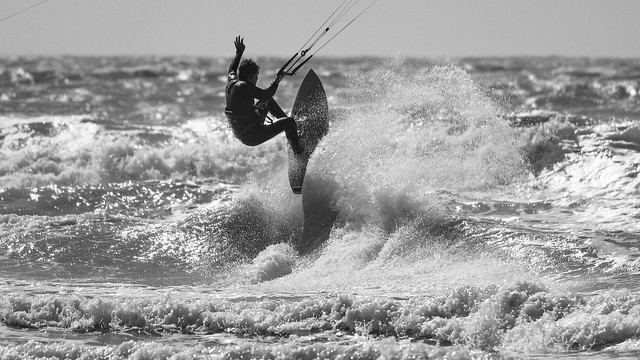 Surfers in De Haan 5 juli - 22
