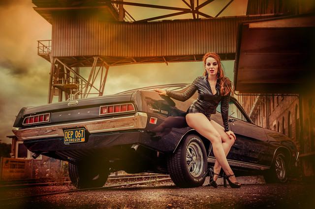Rina Bambina &  the 1971 Ford Torino 500 (2020)