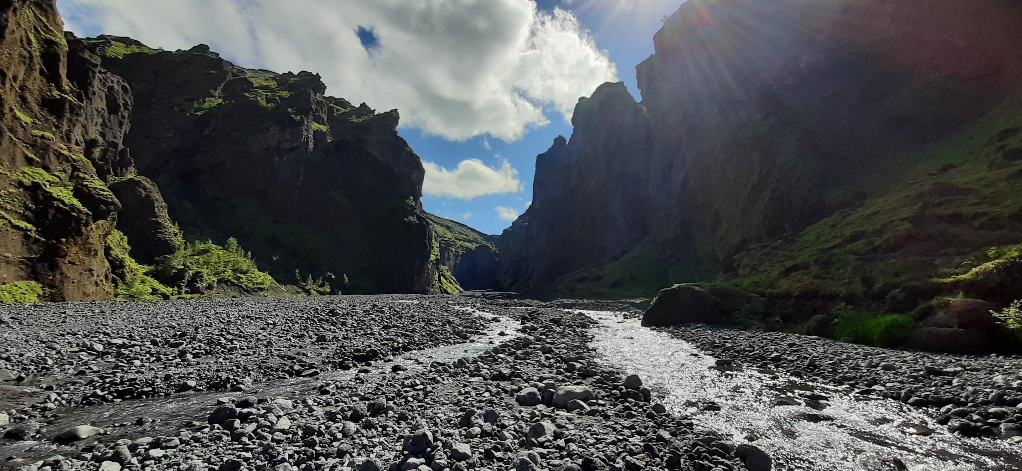 Stakkholtsgja canyon, Thorsmork
