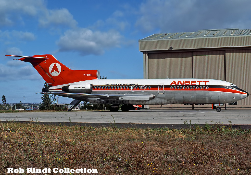Ansett Australia B727-77 VH-RMF