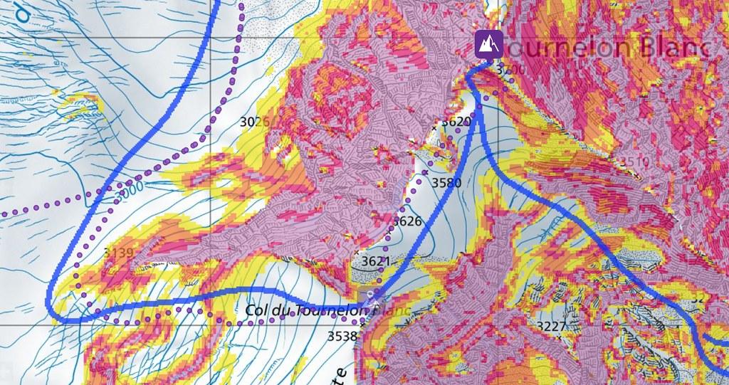 Tournelon Blanc - Cab. Panossiére Walliser Alpen / Alpes valaisannes Švýcarsko foto 04