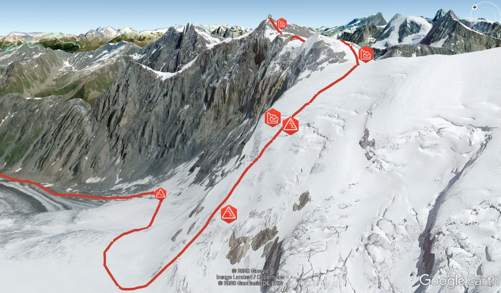 Tournelon Blanc - Cab. Panossiére Walliser Alpen / Alpes valaisannes Schweiz foto 03