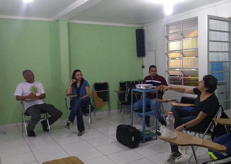 Apresentação do Projeto Varre Vila, Outubro de 2018