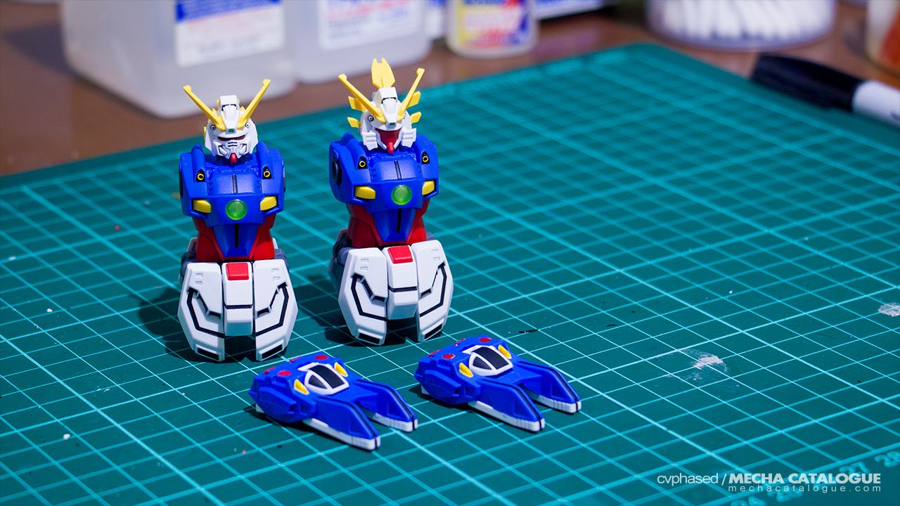 Shining Finger(s)! Work in Progress #1: HGFC Shining Gundam