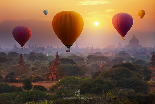 Ballooning Experience In Bagan, Myanmar | by fesign