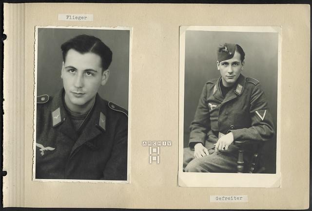 ArchivTappenX686 Album t, Gesamtseite 41, WWII, 1940er