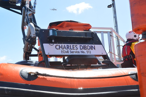 New Brighton Atlantic 85 inshore lifeboat B-837 Charles Dibdin | by Silver Novice of the Wirral