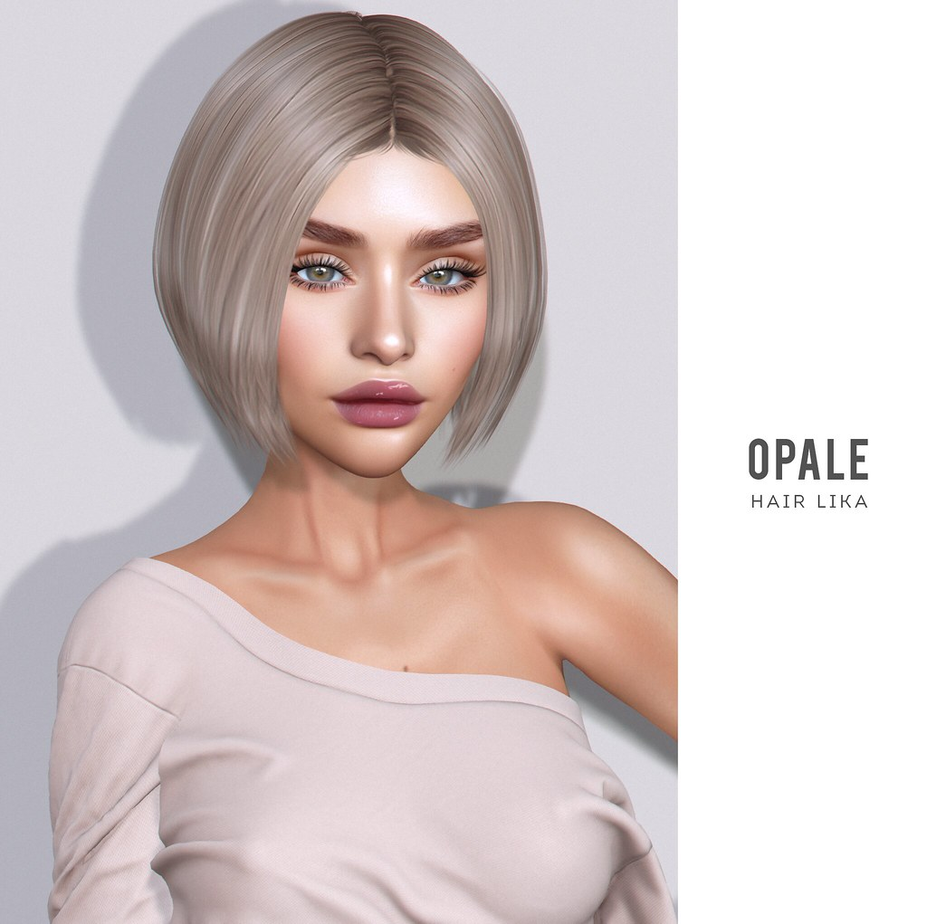 OPALE .  Lika Hair x Fameshed July 2020
