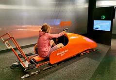 Piz Gloria, Bond World - interaktivní výstava, kde můžete jet v bobu a střílet jako James Bond ve filmu