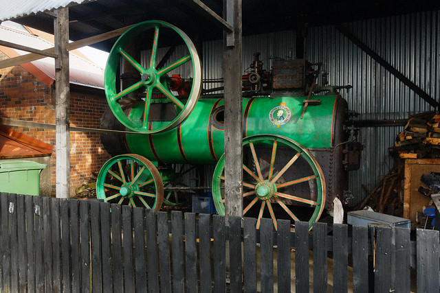 Foster of Lincoln Traction Engine