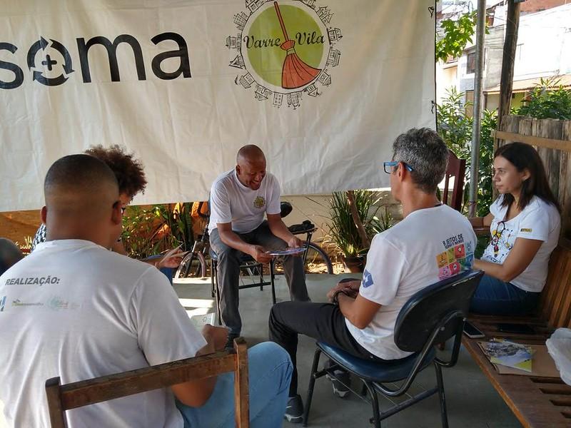 Apresentação no Ecoponto de União de Vila Nova, Maio de 2019