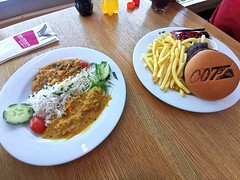 Piz Gloria, oběd v 360° restauraci