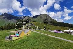 Allmendhubel - dětské hřiště