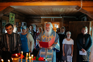 06.07.2020 | Литургия в деревне Плав