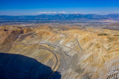 utahisawesome utah binghamcanyonmine dronephotography aerialphotography