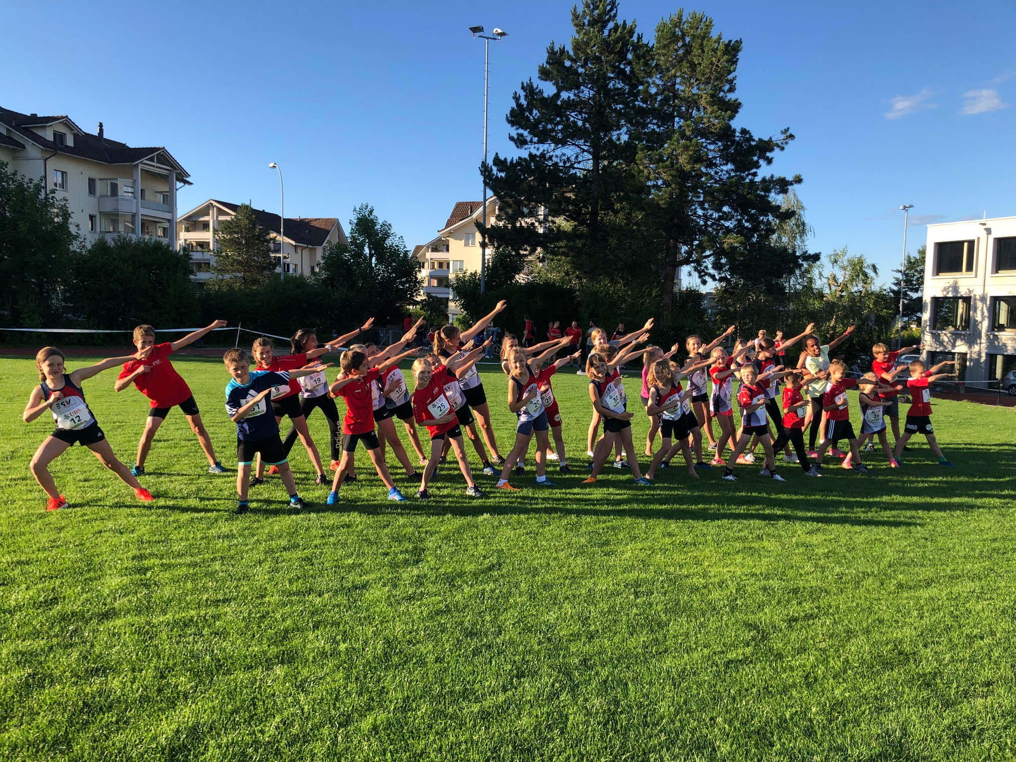 Leichtathletik Kids Cup Einzel in Eschenbach