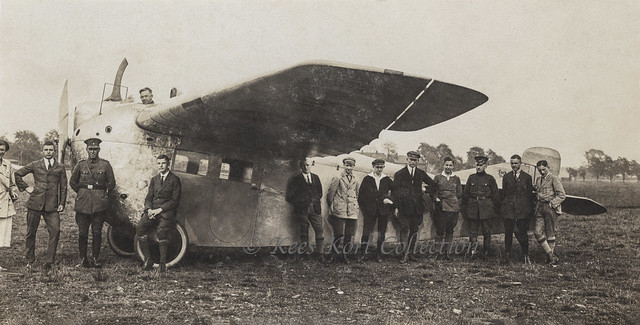 The Focke-Wulf A 16 civilian monoplane, which could carry 3 to 4 passengers [Germany, 1924]